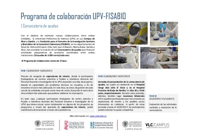 Con el objetivo de estimular nuevas colaboraciones entre ambas entidades, la Universitat Politécnica de Valencia (UPV), en...