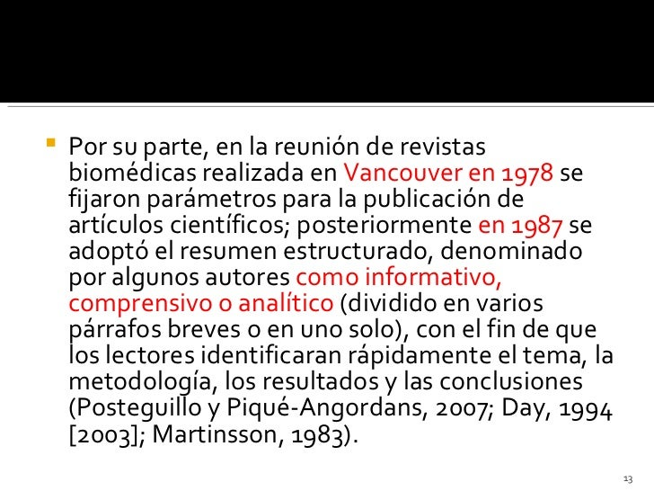 Resumens de articulos cientificos