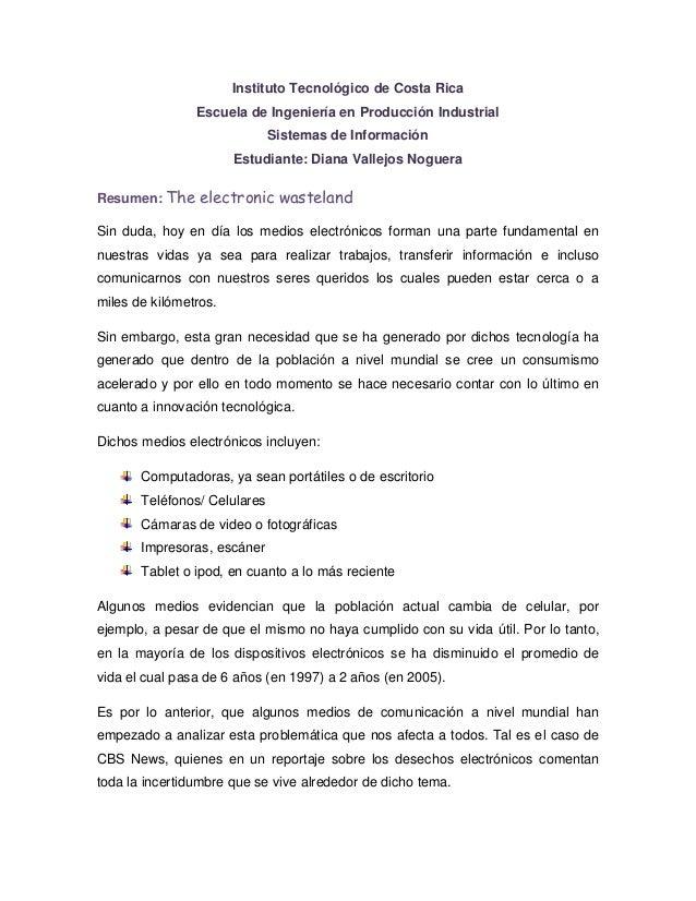 Instituto Tecnológico de Costa Rica                Escuela de Ingeniería en Producción Industrial                         ...