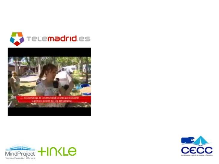 Resumen actividades de comunicación                                      Ø Imágenes en camping El Escorial y            ...