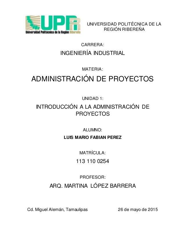 Introduccion a la administracion de proyectos for Oficina de proyectos