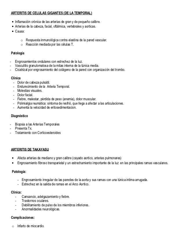 Resumen Vasos Sanguineos - Anatomia Patologica II