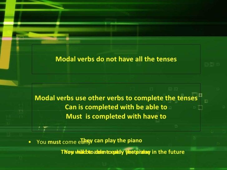 resumen verbos modales