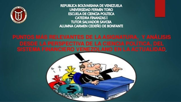 Resumen Y Análisis Del Sistema Financiero Venezolano