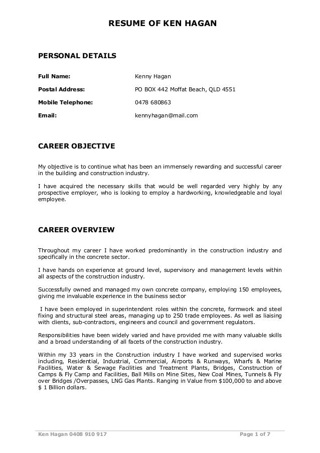 Free Resume Builder*