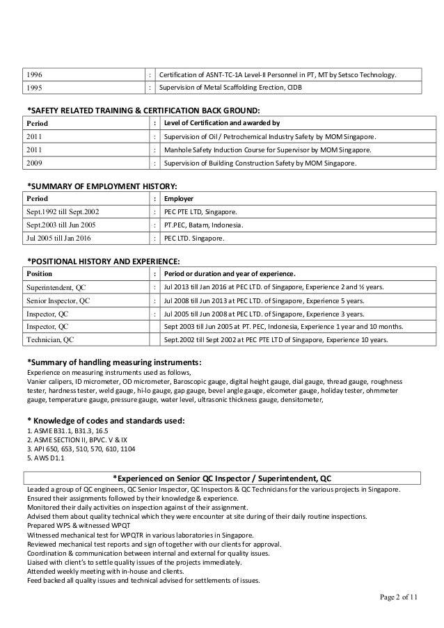 resume of md kafil uddin piping