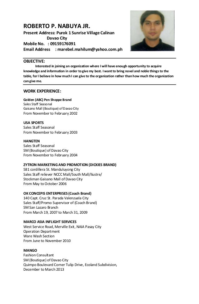 criminology resume examples - Resume Sample Objectives For Ojt