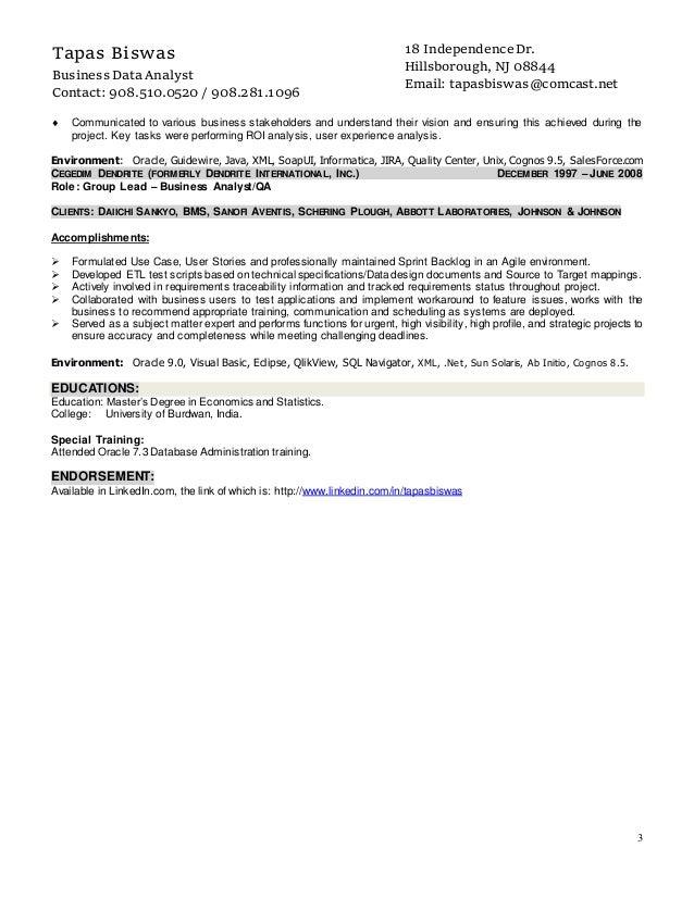 spotfire developer resume resume ideas