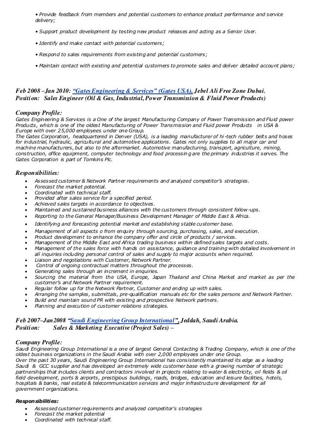 Business Development Manager Sales Oil Gas