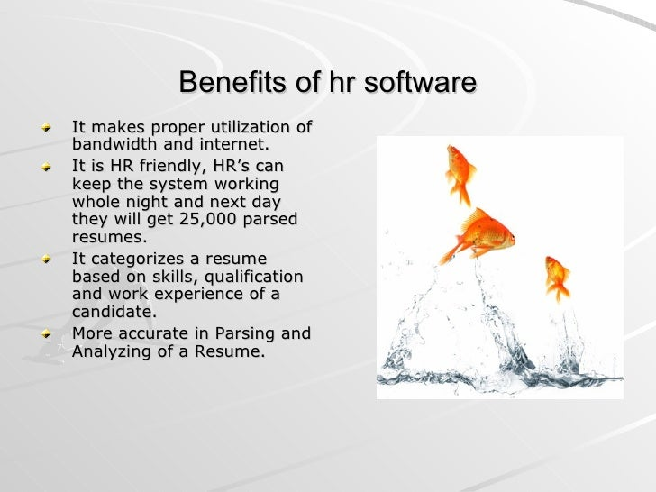 human resource management software  resume extraction
