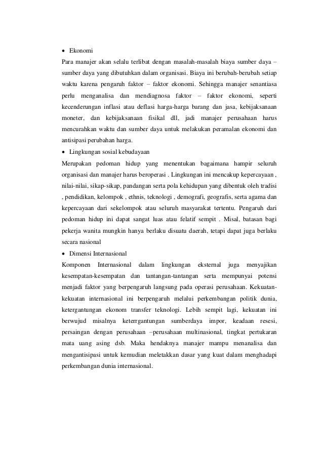 resume pengantar manajemen bab iii s d bab vii referensi