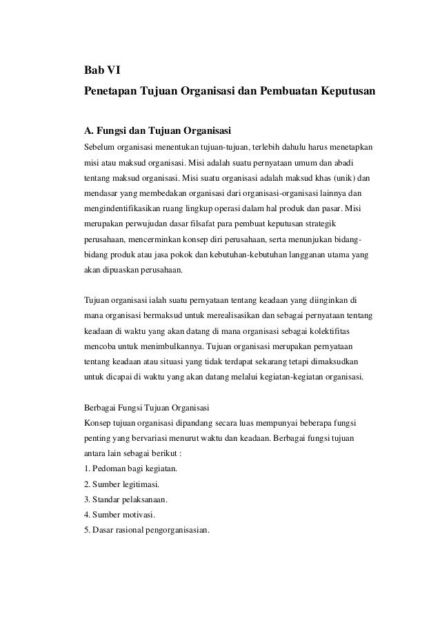 Resume pengantar manajemen bab iii s.d. bab vii (Referensi ...