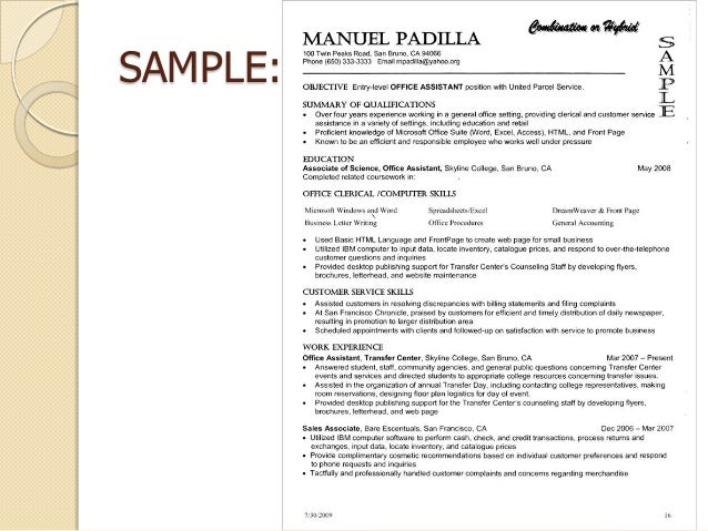 how to write a successful resume