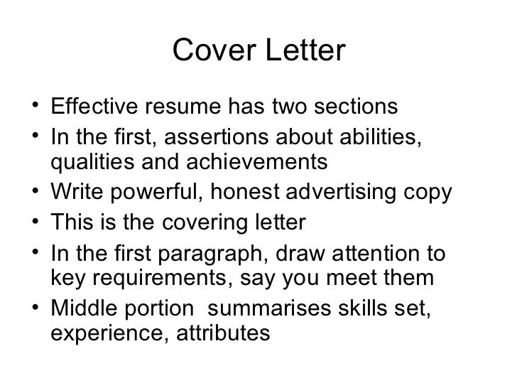 New Rules For Cover Letters    For Your Example Cover Letter For