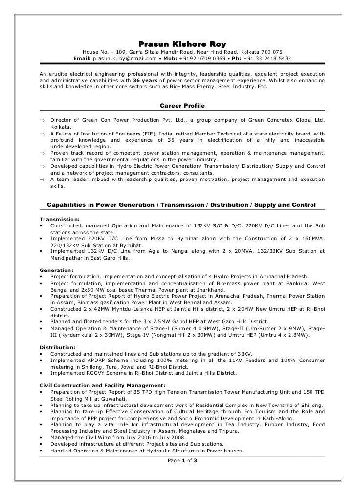 Senior Operations Manager Resume Resume Template Essay Sample Free Essay  Sample Free  Plant Manager Resume