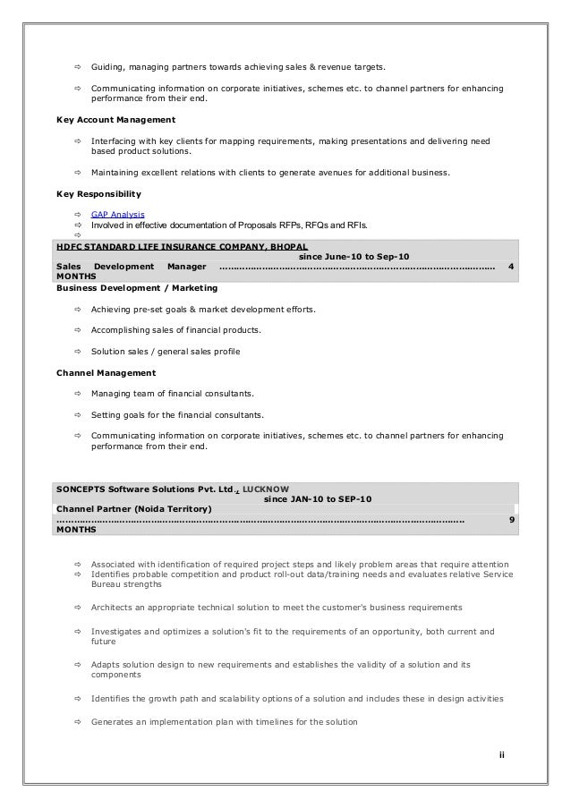 It sales consultant resume Sample Resume
