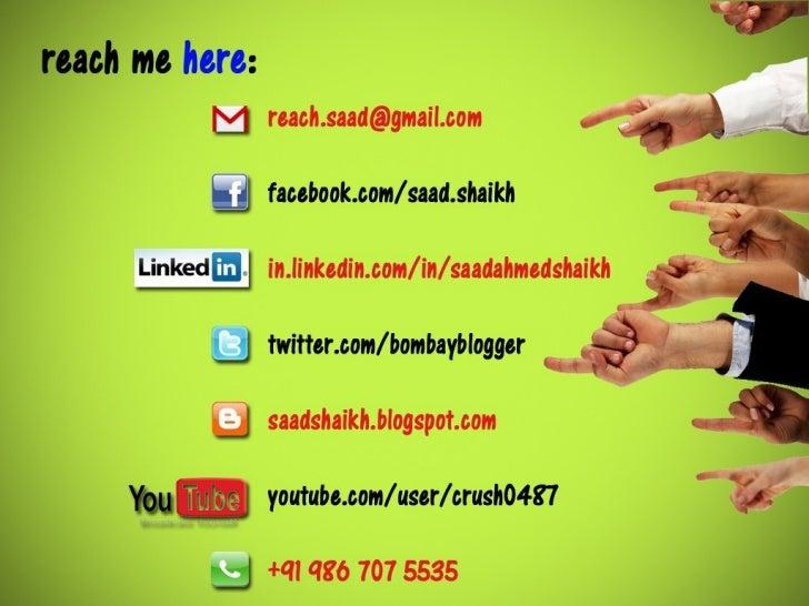 My Visual Resume - Saad Ahmed Shaikh