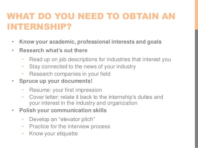 internships ranked highest 3 what do you need - Do You Need A Cover Letter For An Interview