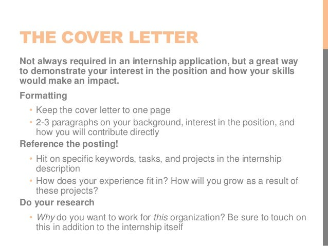 Resume cover letter tips getting started for Do you always need a cover letter
