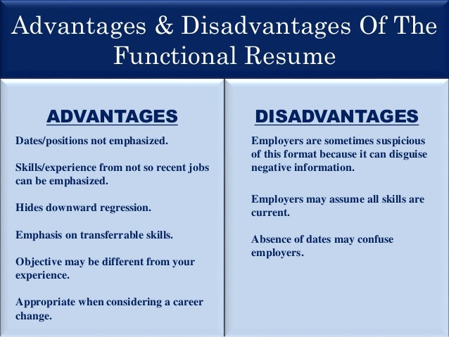 functional resume skill headings