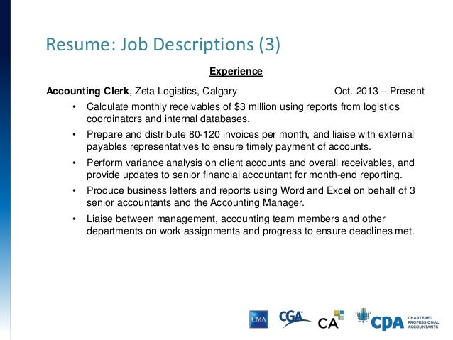 Resume: ...  Resume Accounting