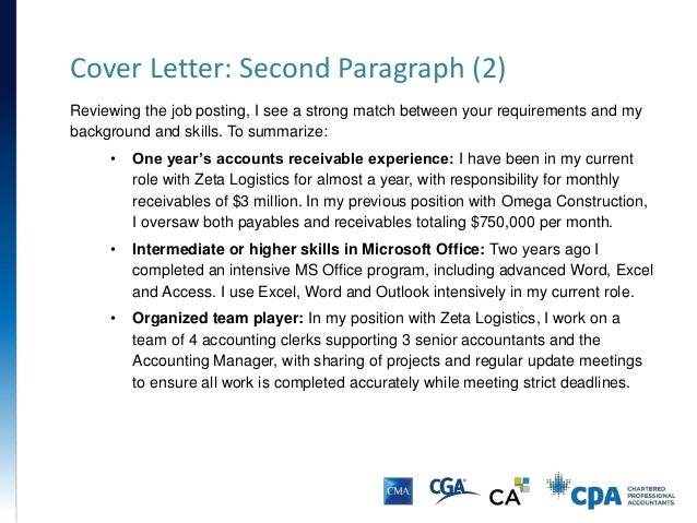 resume paragraph examples