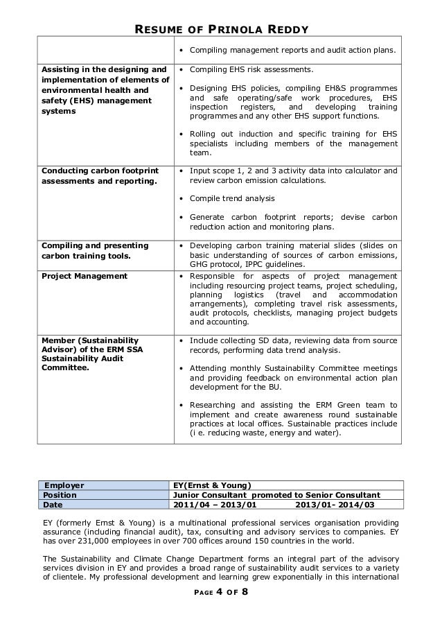 Best Carbon Management Resume Contemporary - Best Resume Examples by ...