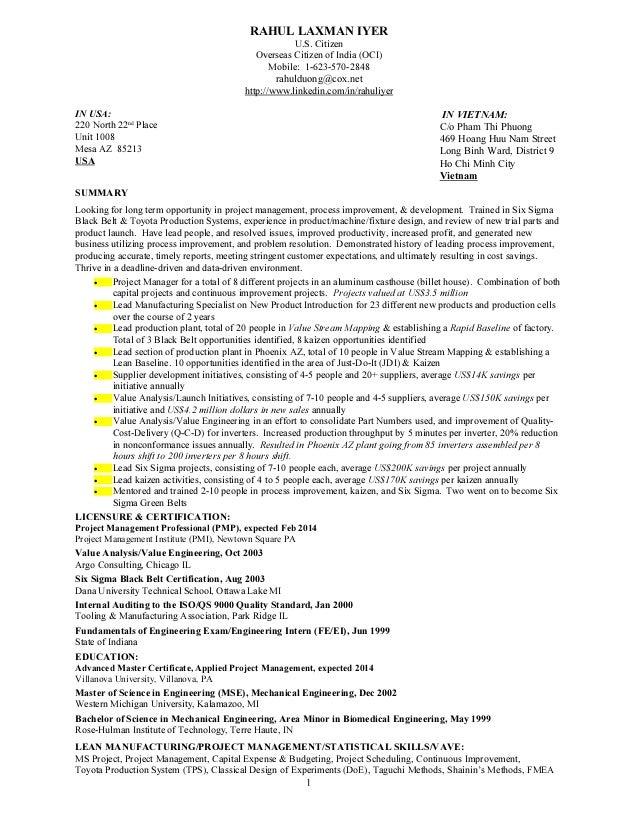 Extrusion Engineer Resume
