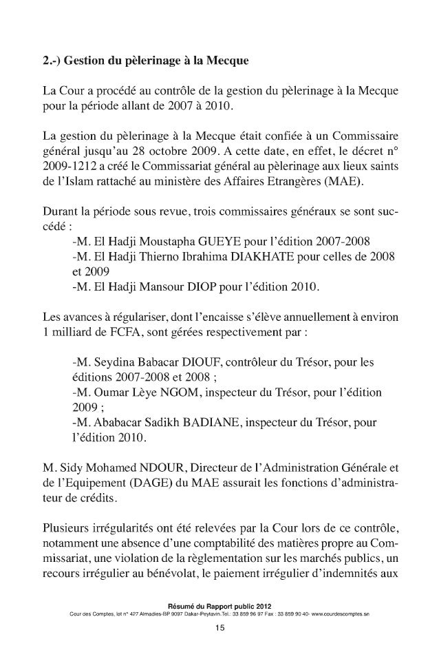 resume rapport public 2012