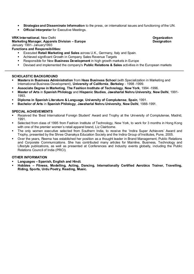 Awesome Special Achievements In Resume Contemporary - Simple .