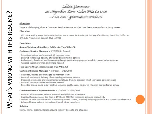 resume with expected salary