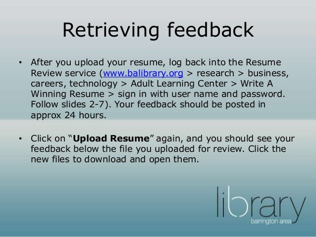 9 - Resume Review Service