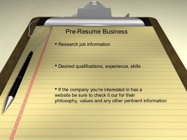 best tips to write an effective resume