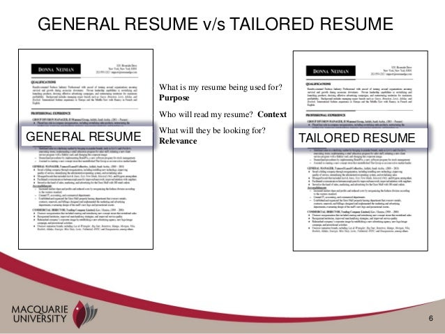 rules for preparing resumes and