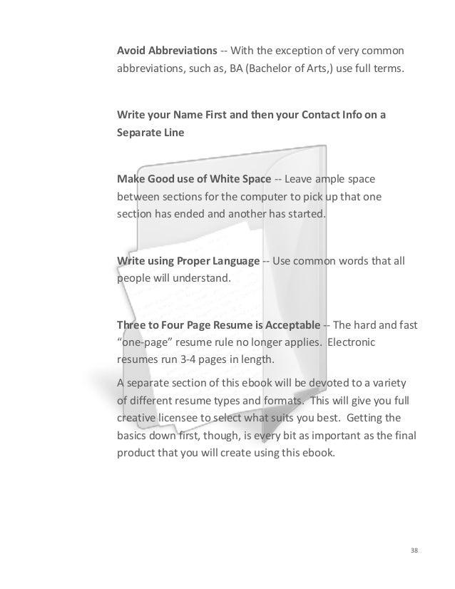 resume one page rule