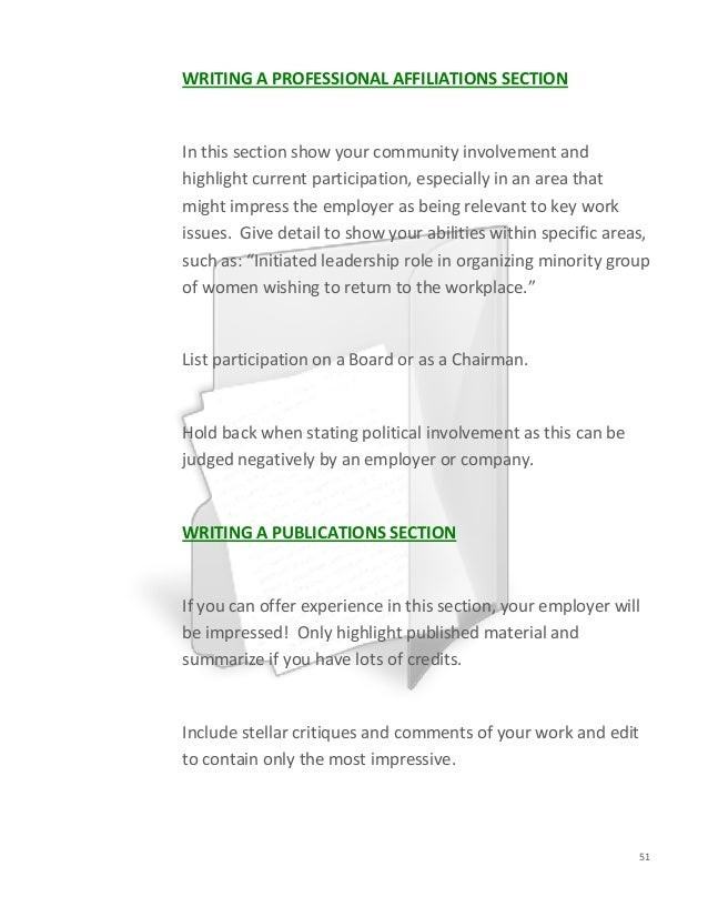Resume Community Involvement Section. resume template education ...