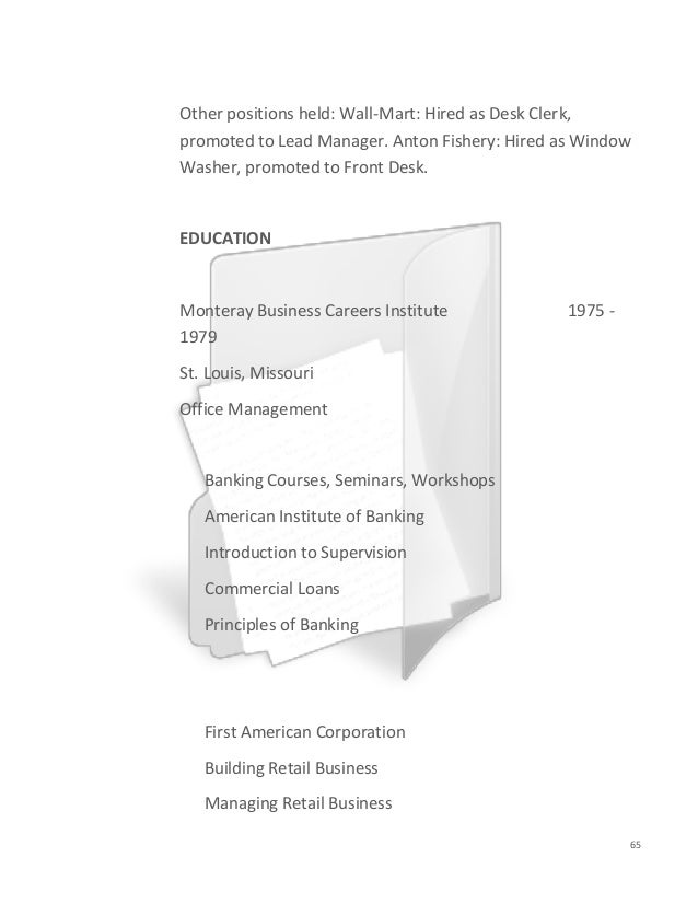 Resumes and cover-letters