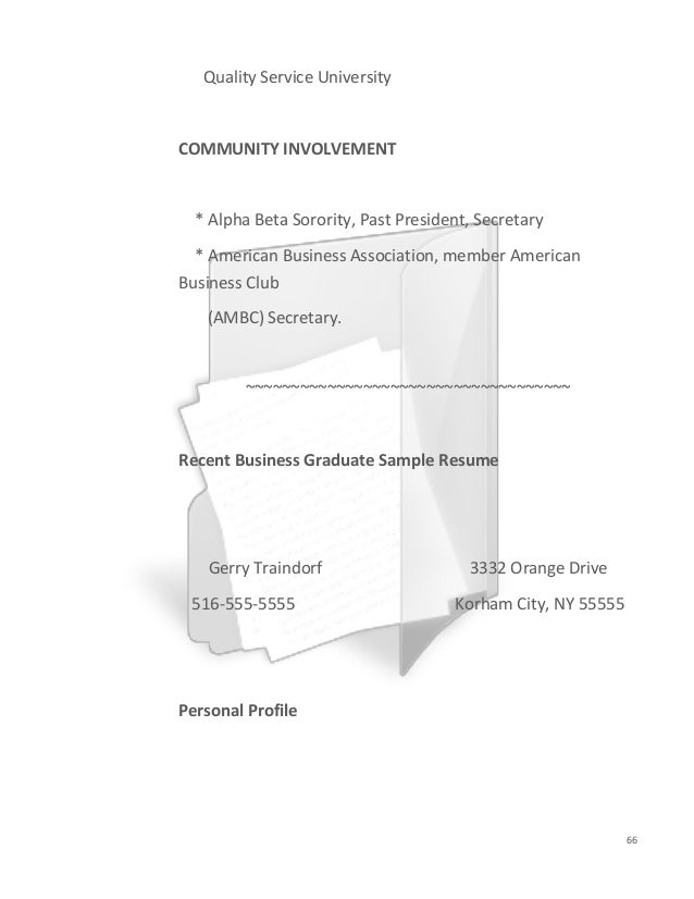 resumes and cover