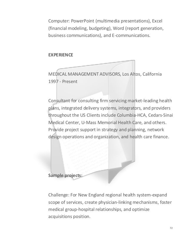 Healthcare Consulting Cover Letter from image.slidesharecdn.com