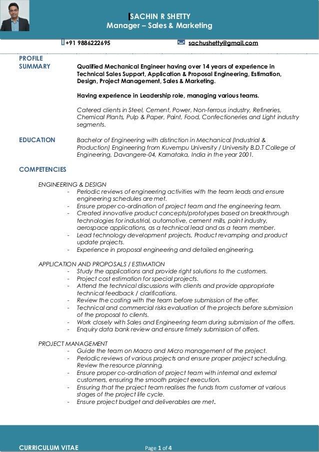 Resume sachin shetty 1