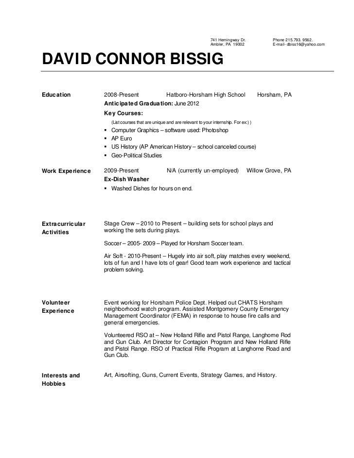 resume sample 908