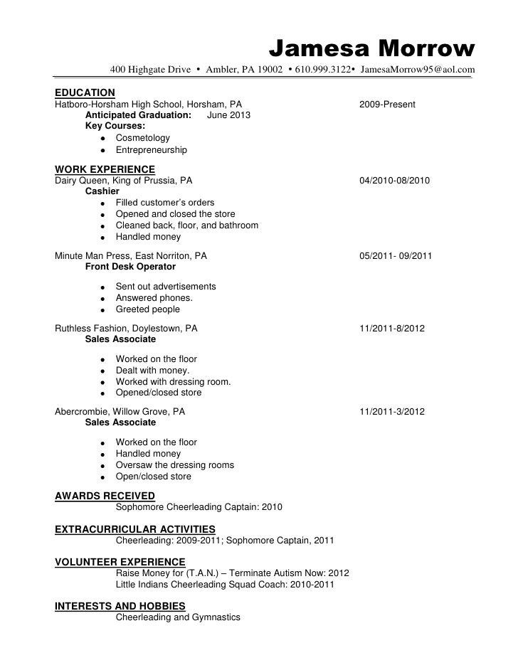 Cosmetology Resume Example How To Write Cosmetology Resume – Cosmetology Resume