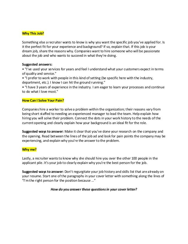 cover letters - What Is A Cover Letter Used For