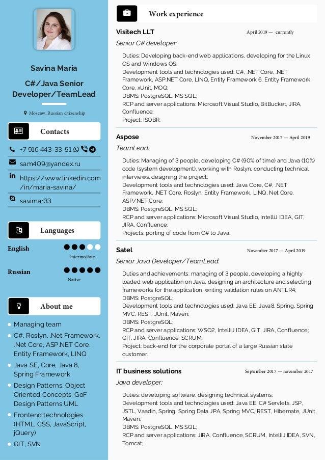 Russian java resume college graduate resume template word