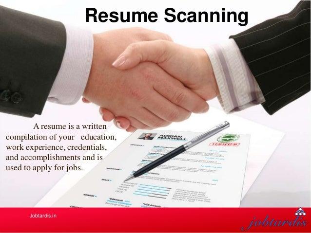 resume scanning