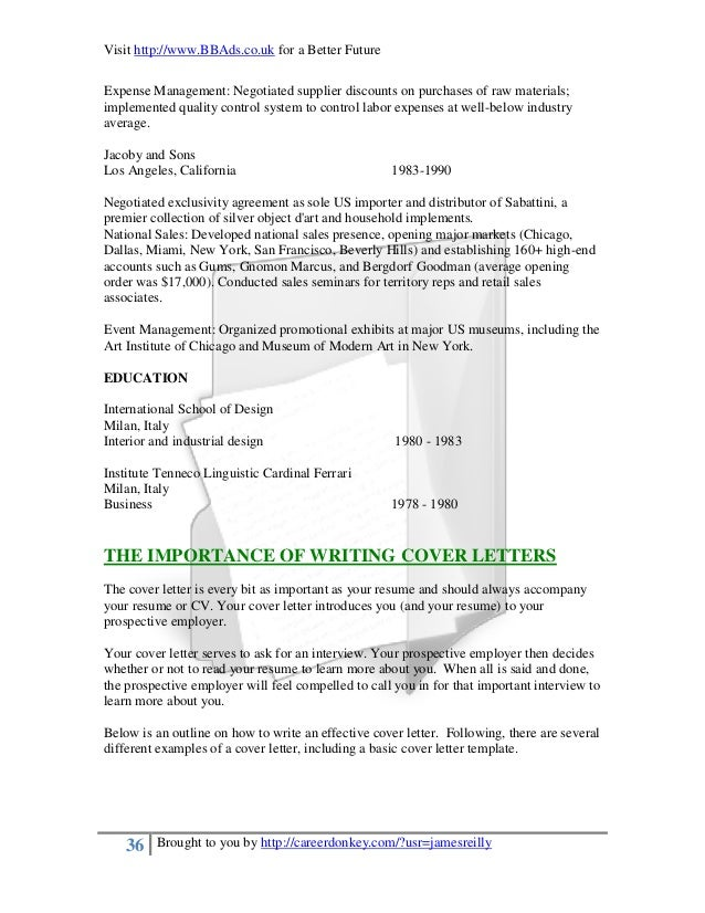A professional approach to resumes and cover letters 36 spiritdancerdesigns