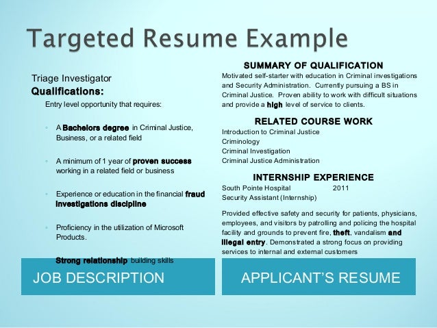 11 JOB DESCRIPTION APPLICANTS RESUME