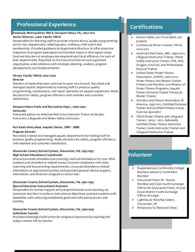resume sharon joyce june 2014