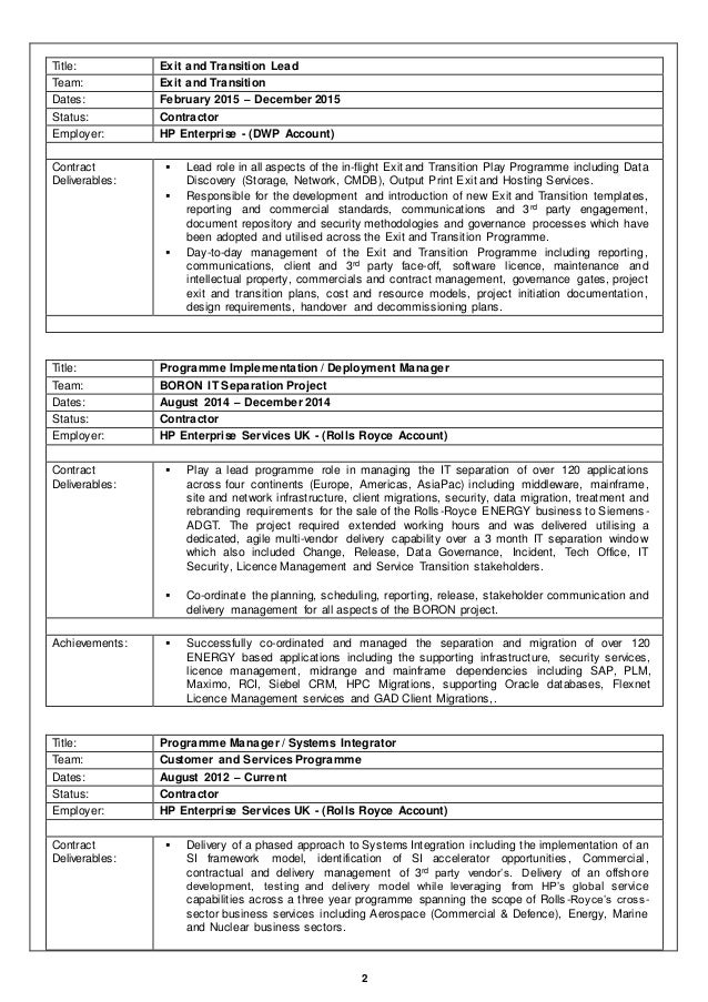 Unique Hp Asset Manager Resume Crest - Best Resume Examples by ...