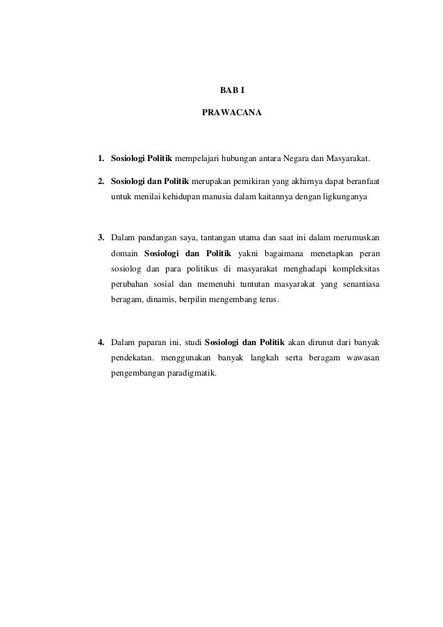 Resume sosiologi dan politik Slide 2